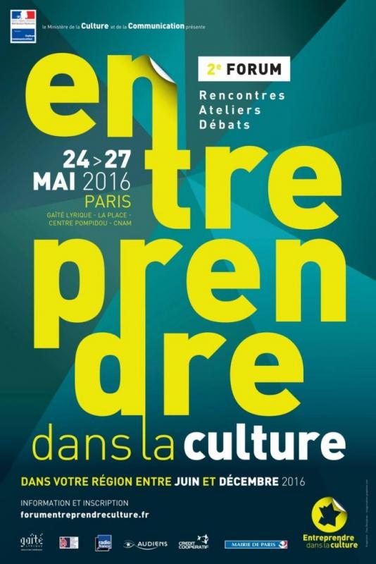 Tipicomm au forum «Entreprendre dans la Culture»