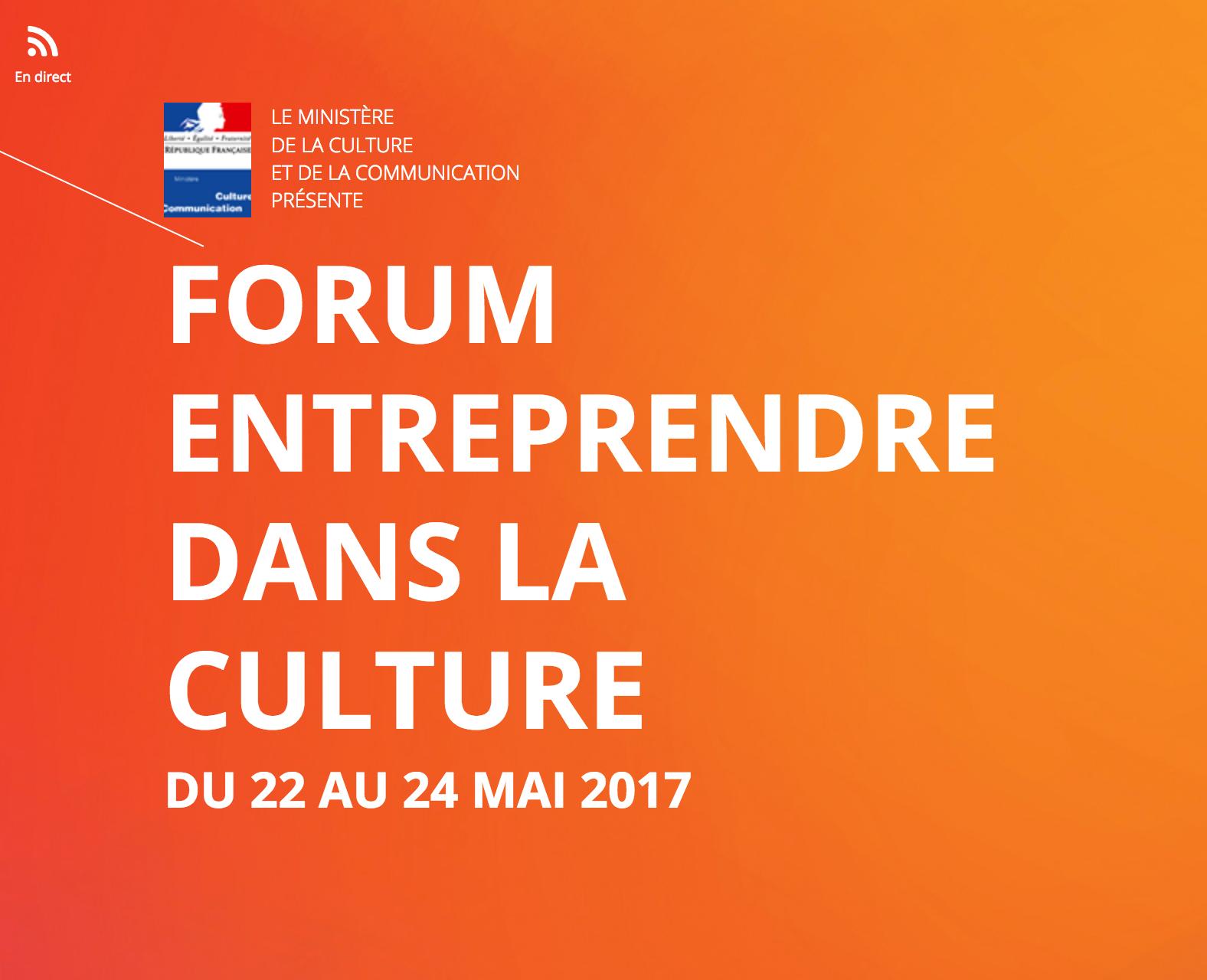 Entreprendre dans la Culture 2017