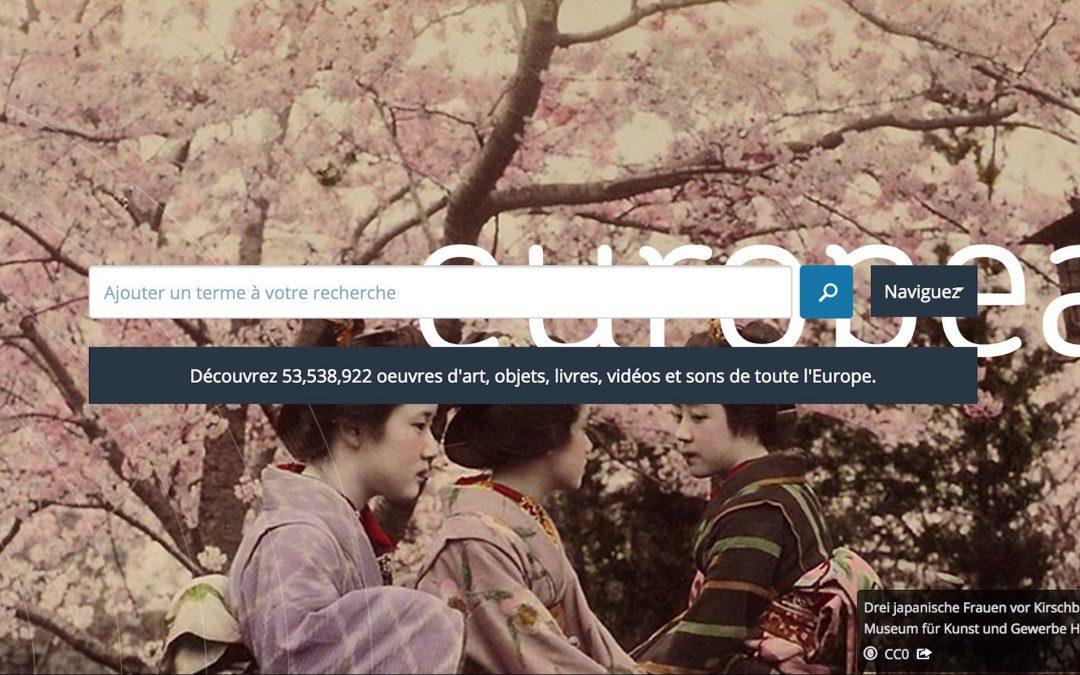 Europeana, un échange culturel européen